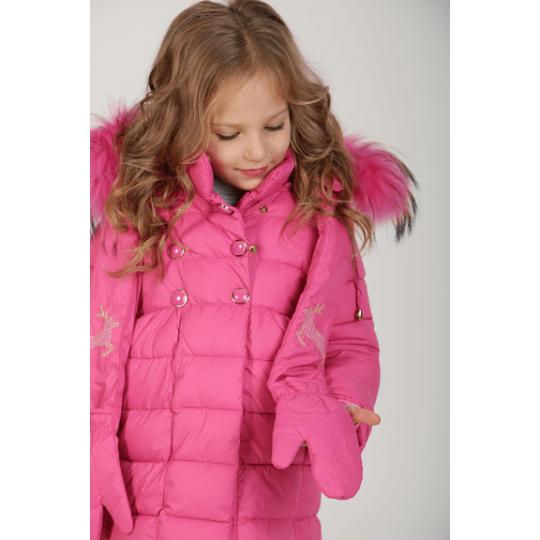 Куртка L816 малиновая