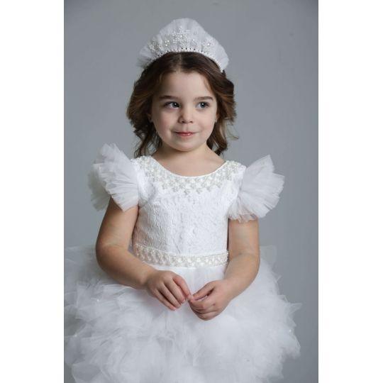 Карнавальный костюм Снежинка 9742 бусинки