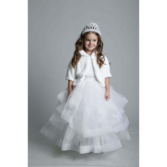 Карнавальный костюм Снежная королева 8703, вьюга, метель