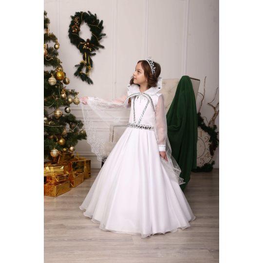 Карнавальный костюм Снежная королева Блеск