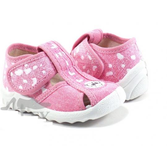 Туфли текстильные Маша Смайл