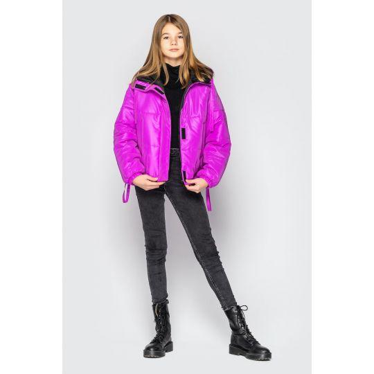 Куртка светоотражающая Брианна фуксия