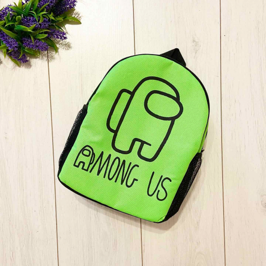Рюкзак Among Us 6 зеленый