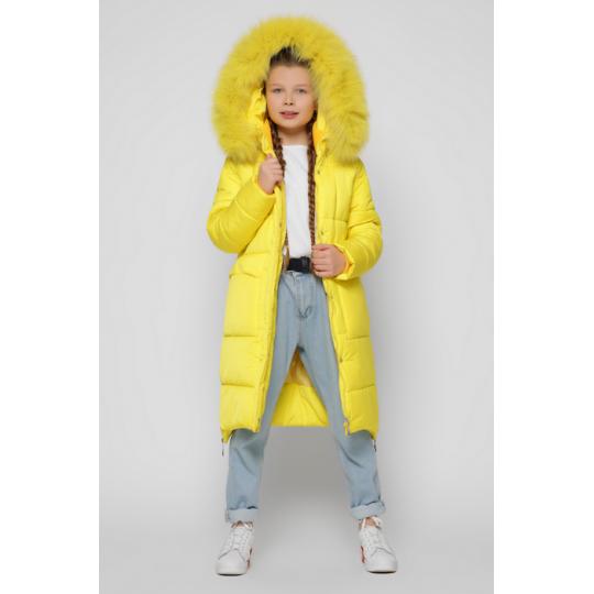Куртка DT-8304-6 желтая