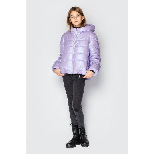 Куртка Медисон светло фиолетовая