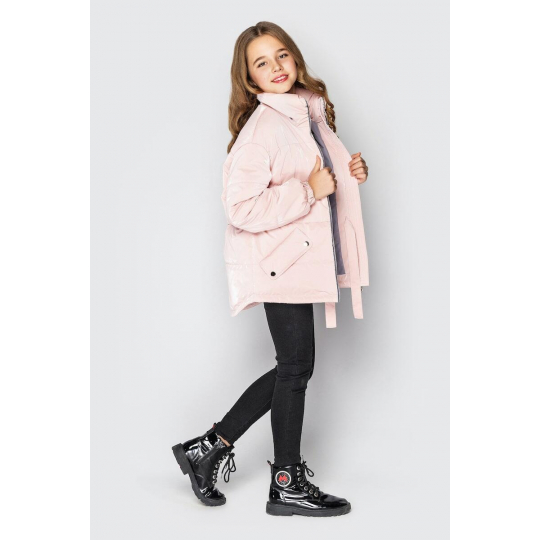 Куртка светло-розовая Айрис