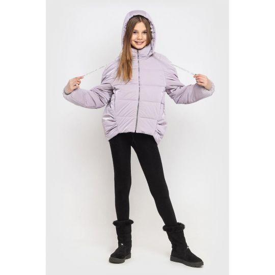 Куртка Терри светло фиолетовая