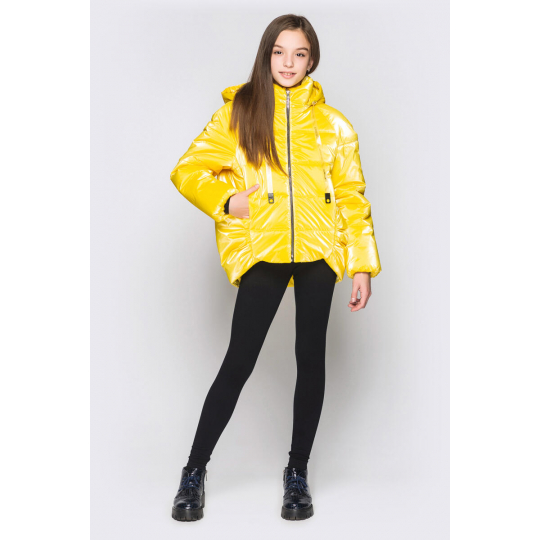 Куртка Терри желтая