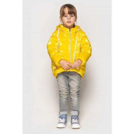 Куртка Терри дощкольник желтая