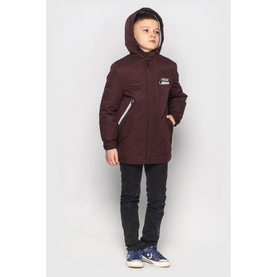 Куртка Итан бордо