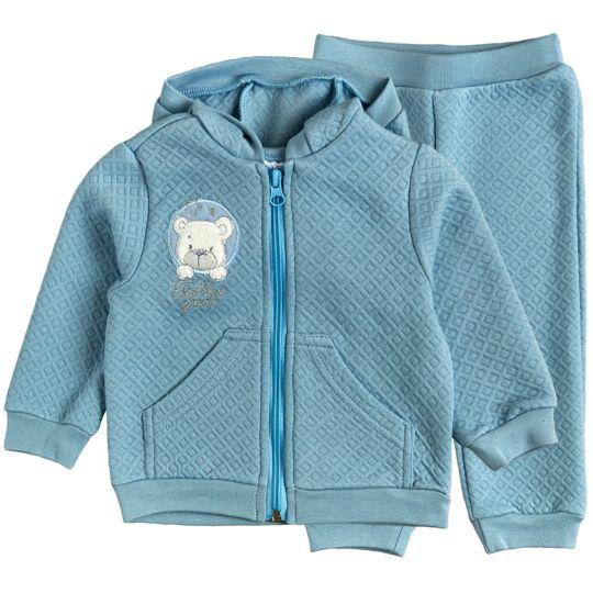 Комплект голубой капитон(кофта+штаны) 40173-15