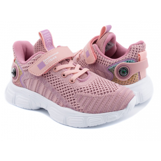Кроссовки F991 розовые