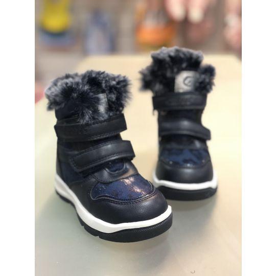 Ботинки H219 синие