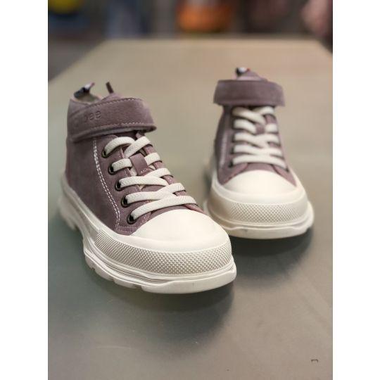 Ботинки кеды P700 розовые