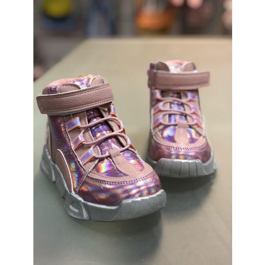 Ботинки Р-609 розовые