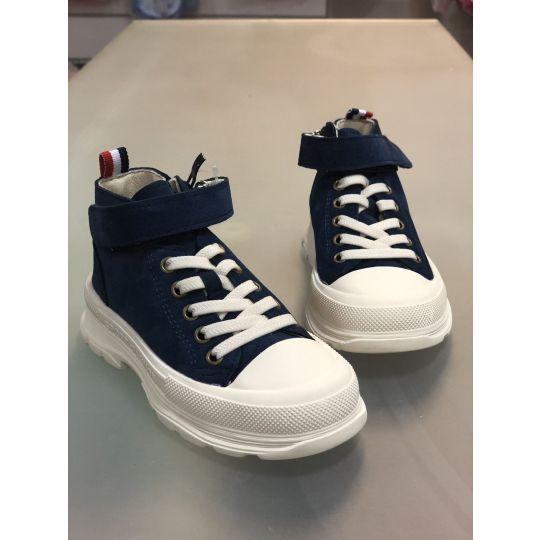 Ботинки кеды P700 синие