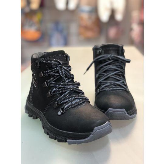 Ботинки Джерси черные матовые