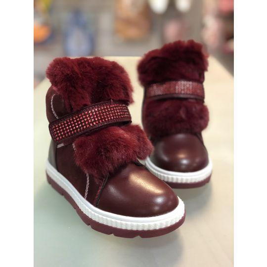 Ботинки H192 бордо