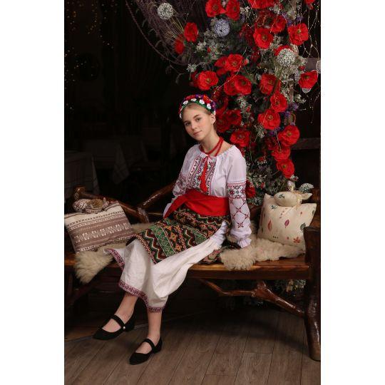 Карнавальный костюм Украинка 10
