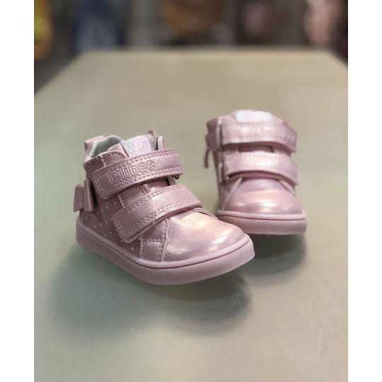 Ботинки P527 розовые
