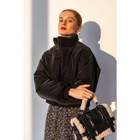 Куртка Мирея 6677 черная
