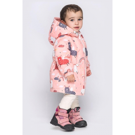 Куртка Эбби малыш персик