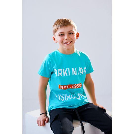 Детская футболка Хонда 4930 мятная