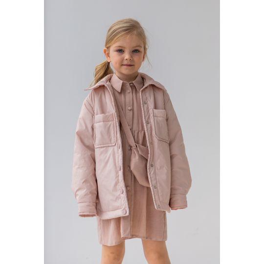 Сорочка-куртка Эланд 6874 персиковая
