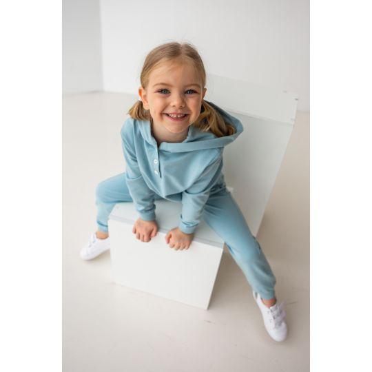 Спортивный костюм Алмея 6884 серо-голубой