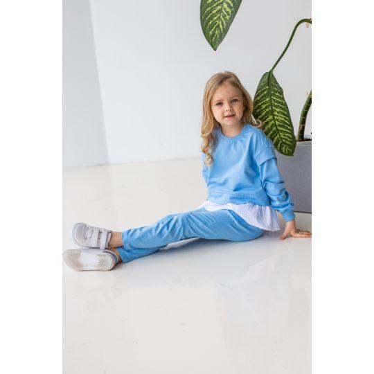 Спортивный костюм Кемария 6897 голубой