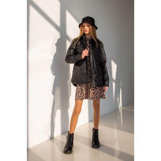 Сорочка-куртка Эланд 6876 черная