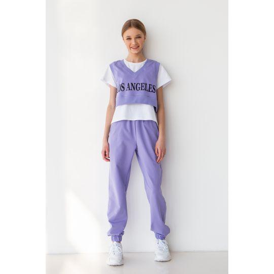 Спортивный костюм Сайкет 6780 фиолетовый