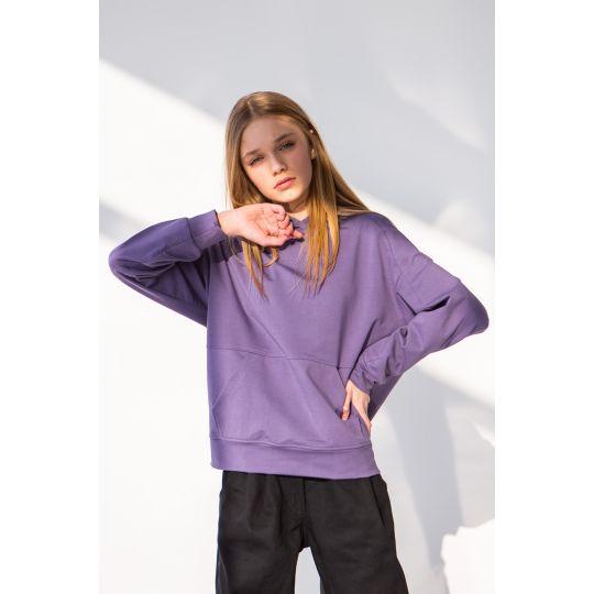 Худи Зайнал 6767 темно фиолетовый