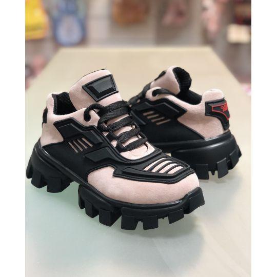 Кроссовки розовые (пудра) AB