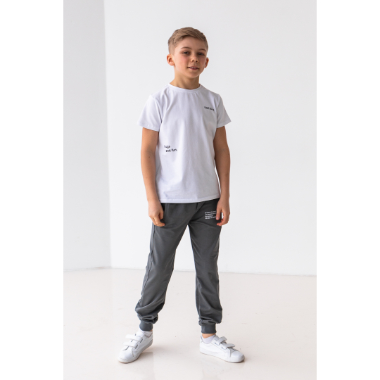Спортивные штаны Фэнс 6862 графитовые