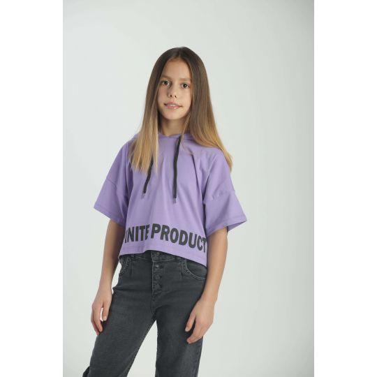 Футболка 9636.17 фиолетовая
