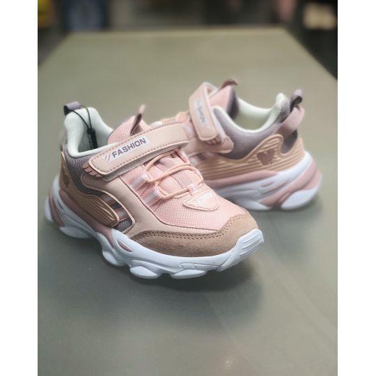 Кроссовки 271-А розовые