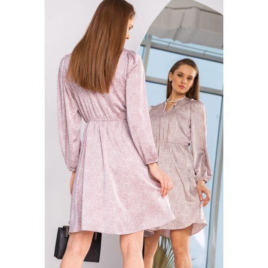 Платье Икария 6901 темно лиловый