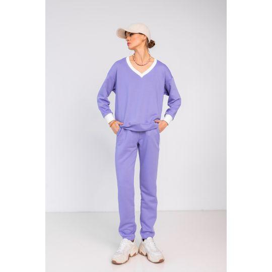 Спортивный костюм Алекмия 6947 фиолетовый