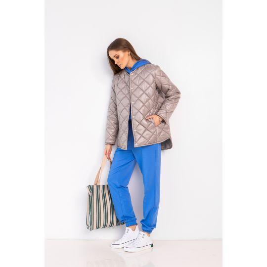 Сорочка-куртка Аланд 6909 серебрянная