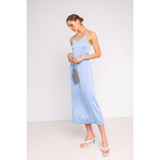 Платье Бейкер 6906 небесное