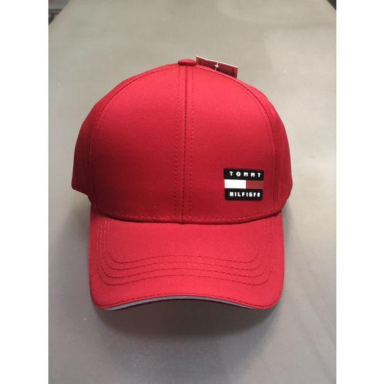 Блайзер кепка Tommy красный