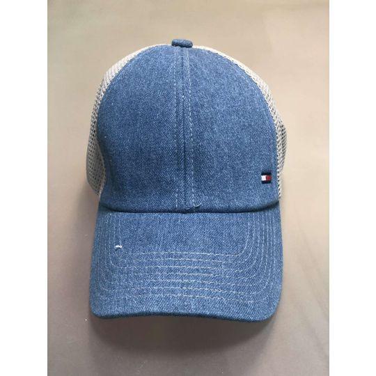 Блайзер кепка сетка №85 Tommy Hilfiger джинс
