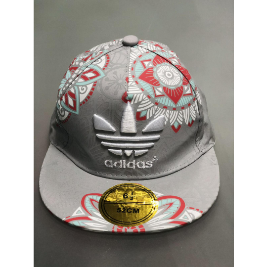 Блайзекр кепка реперка Adidas серый