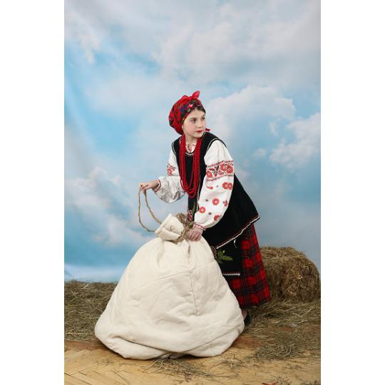 Карнавальный костюм Солоха Украинка №15