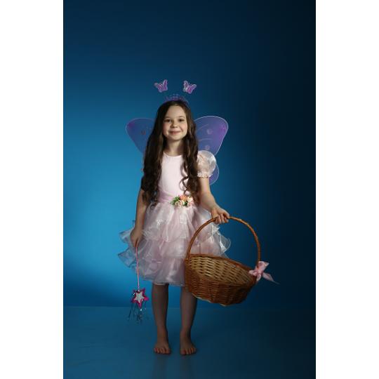 Карнавальный костюм Фея Феечка Рюша розовая
