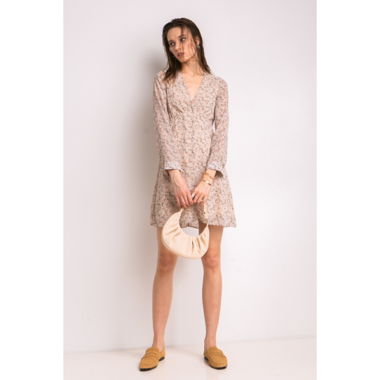 Платье Мальвизия 7035 бежевое