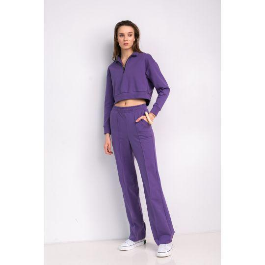 Спортивный костюм Солнэй 7030 темно фиолетовый