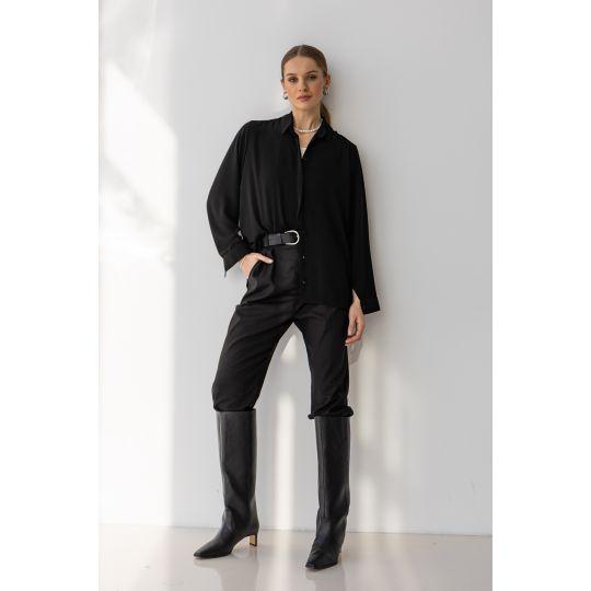 Блуза Элиана 6579 черная