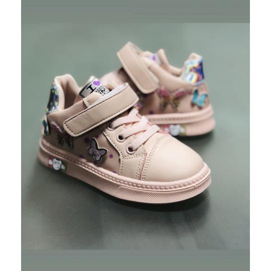 Кроссовки L208 розовые